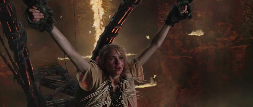 Naomi Watts en 'King Kong' (Peter Jackson, 2005).