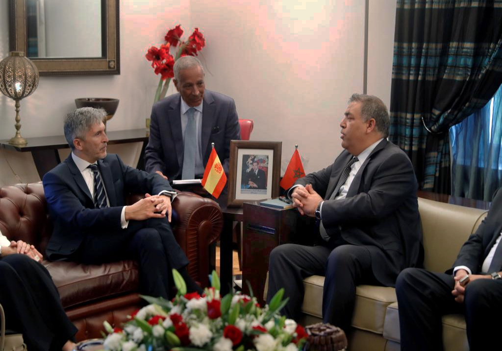 El ministro del interior en marruecos para controlar los for Ministro del interior actual