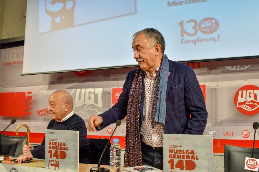 Pepe Álvarez huelga