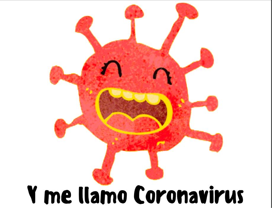 Resultado de imagen de dibujo coronavirus hecho por niños