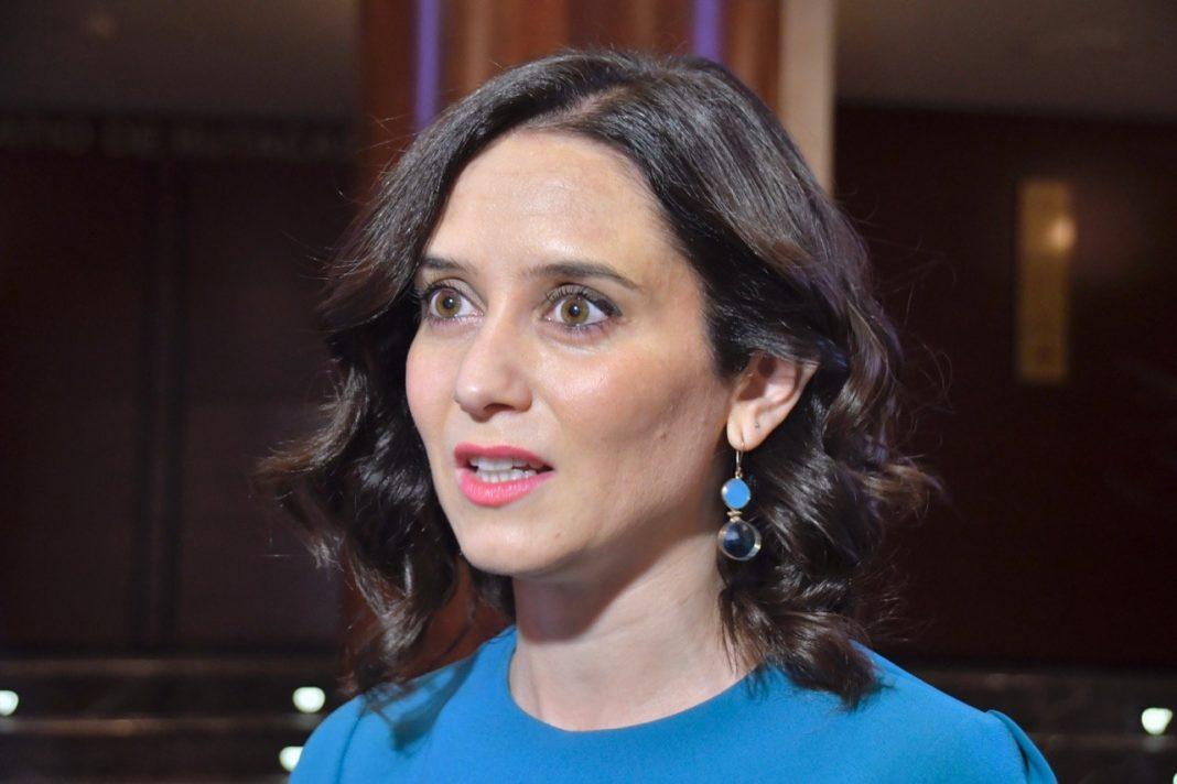 Isabel Díaz, presidenta de la Comunidad de Madrid, foto: Agustín Millán